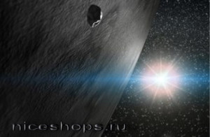 Ледяная планета и комета