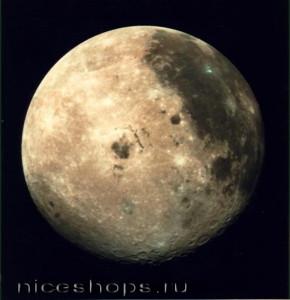 Ледовые образования на Луне