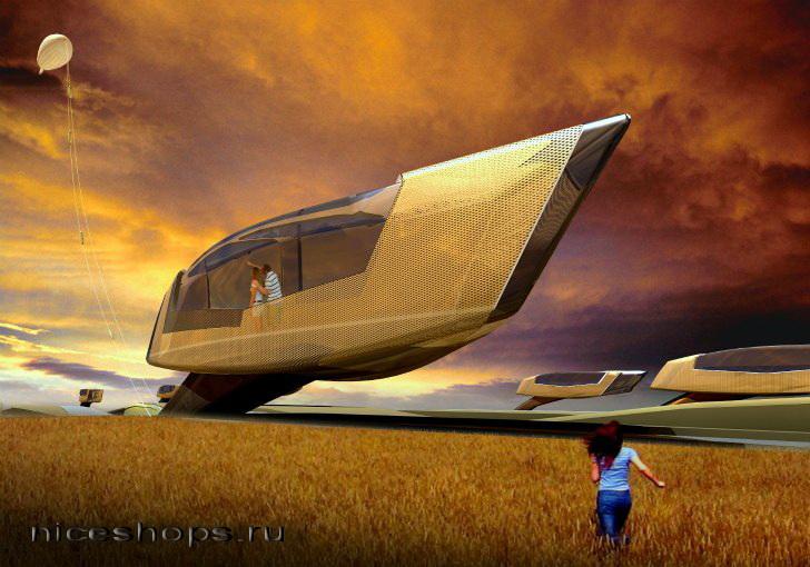 Futuristicheskaja-sovremennaja-arhitektura-s-jelementami-bioniki