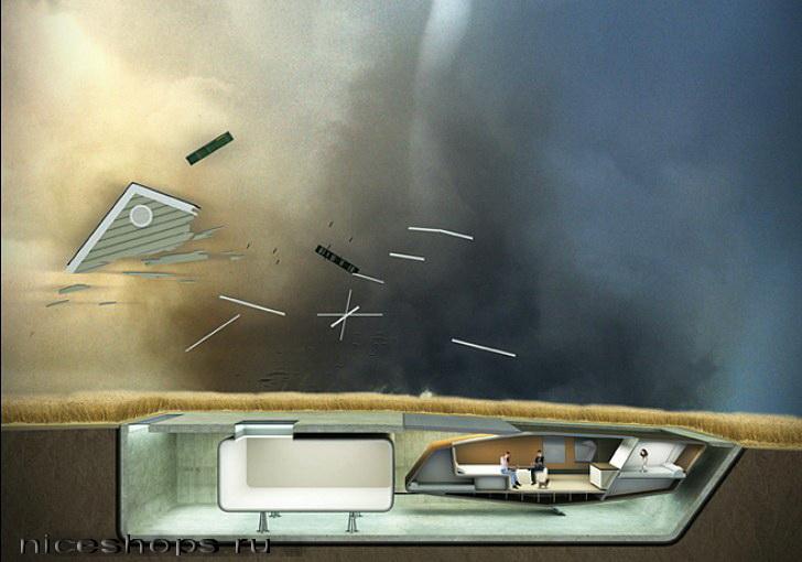 Konstrukcija-doma-kotoryj-prjachetsja-pod-zemlju-pri-uragane