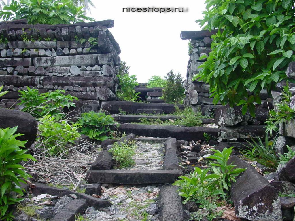 Nan-Madol-Ruins