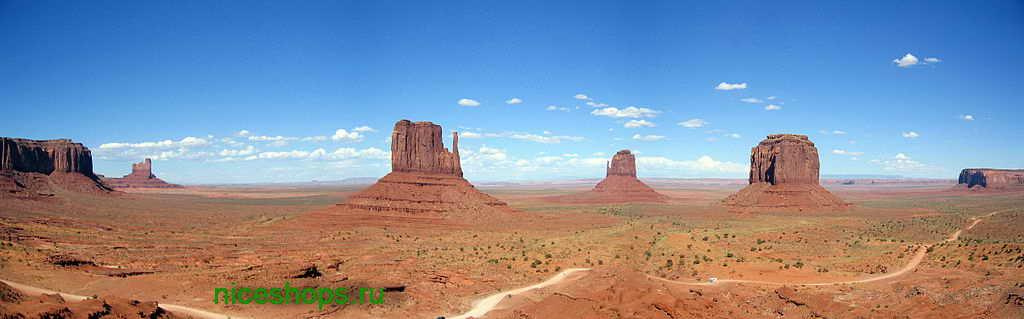 stolovye-gory-Monument-valley-uta-amerika