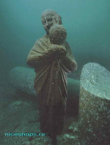 Дворец Клеопатры под водой в Египте