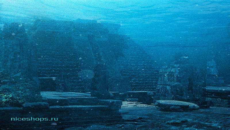 Подводный город у берегов Северной Африки