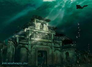 Подводные города прошлого и настоящего