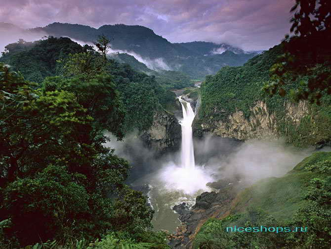 Водопады реки Амазонки