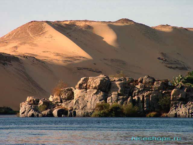 Крупнейшая река Африки и мира - Нил
