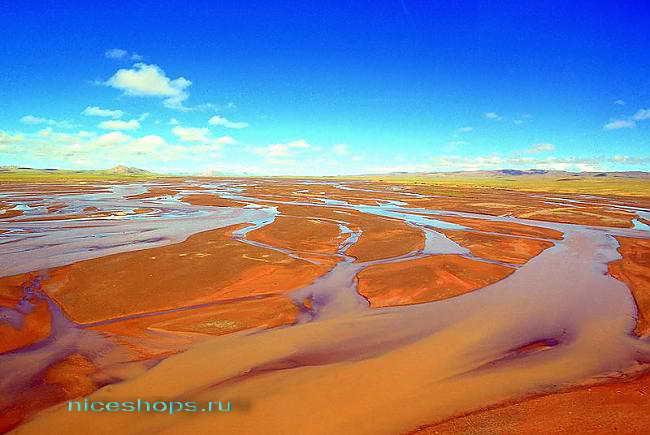 Разливы реки Янцзы в Китае