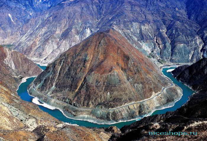 Крупнейшая река Евразии и мира - Янцзы в Китае