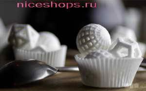 3д-печать сахаром и сахарной пудрой