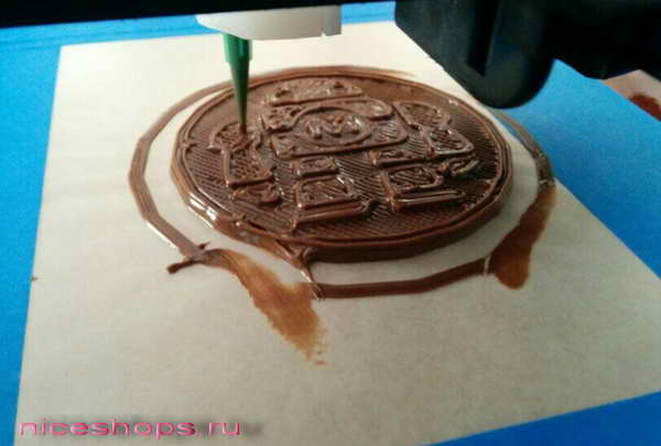 3д-печать шоколадом