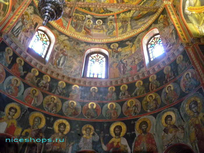 Росписи апсиды церкви метеоры Греции