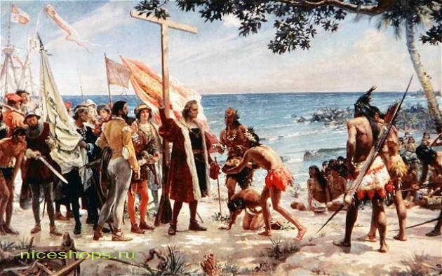 Колумб - открыватель Америки