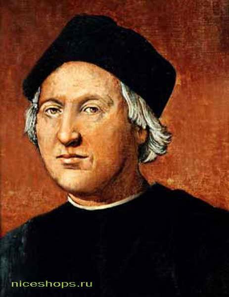 Портрет Христофора Колумба - открывателя Америки