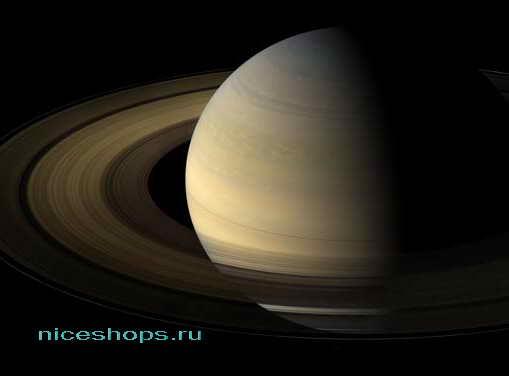 Газовая планета-гигант Сатурн