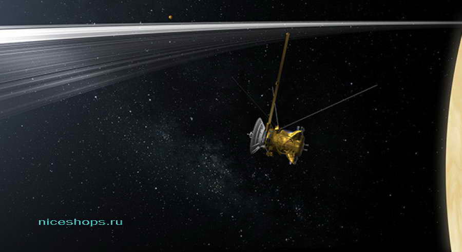 Космический телескоп Кассини исследует Сатурн