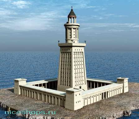 Реконструкция Фаросского маяка