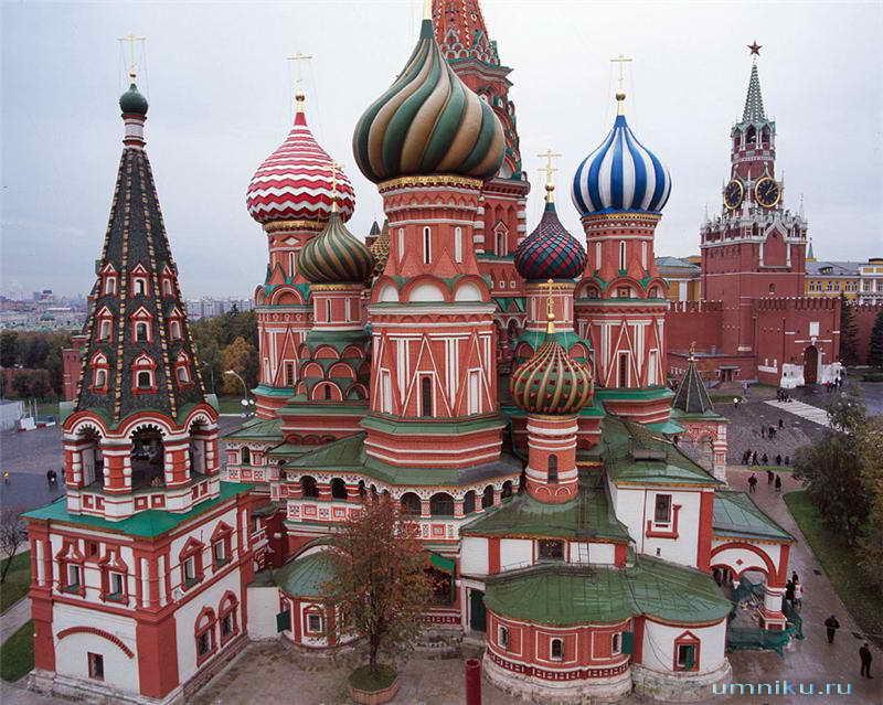 7 чудес России: собор Василия Блаженного в Москве