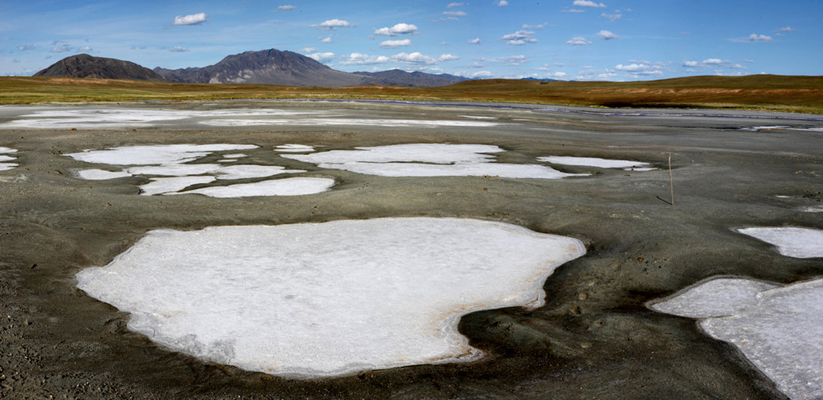 Ледники Убсунурской котловины
