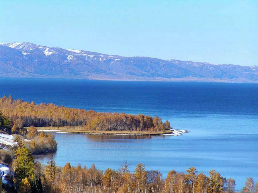 Озеро Маркаколь на Алтае