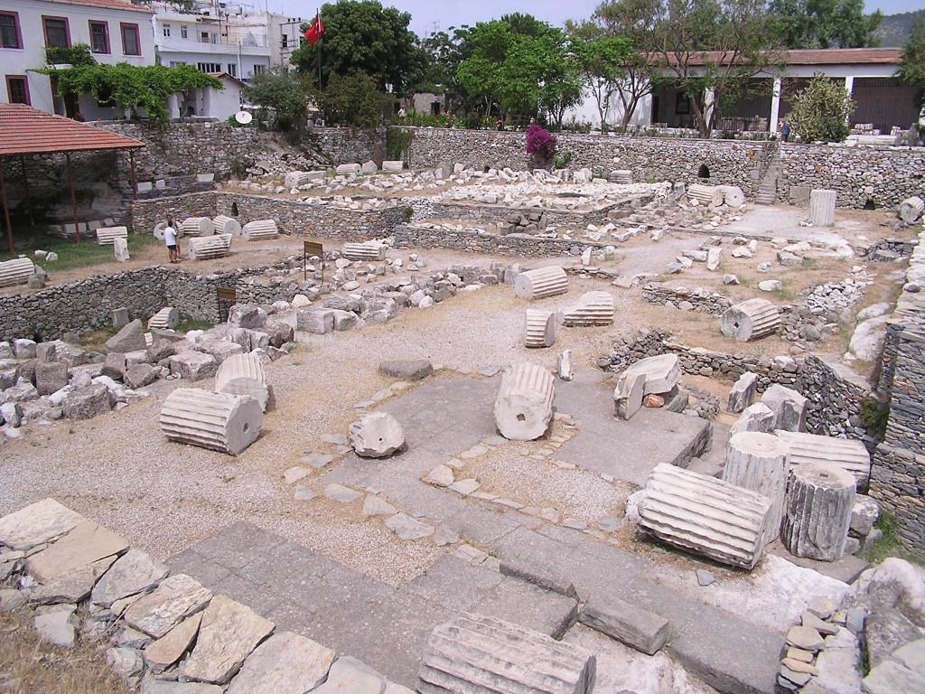 Остатки Галикарнасского мавзолея в Бодруме