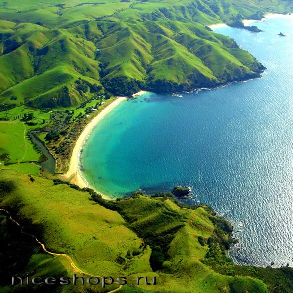 Krater-vulkana-Taupo-v-Novoj-Zelandii