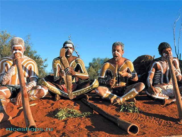Музыкальный инструмент австралийских аборигенов диджериду