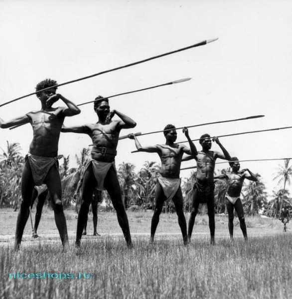 Австралийские аборигены-воины