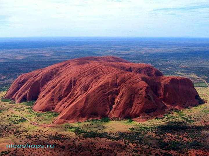 Святыня австралийских аборигенов - гора Улуру