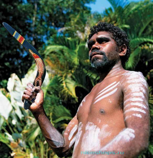 Бумеранг австралийских аборигенов