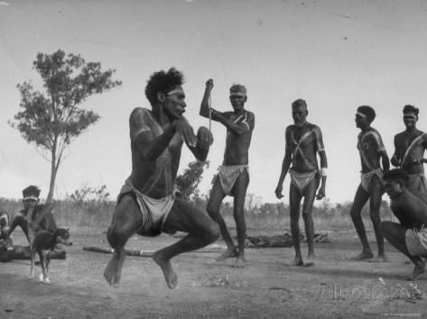 Танцы австралийских аборигенов