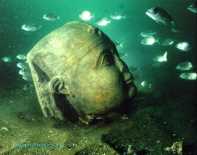 Подводный город в Египте