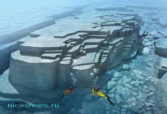 Подводная пирамида Йонагуни в Японии