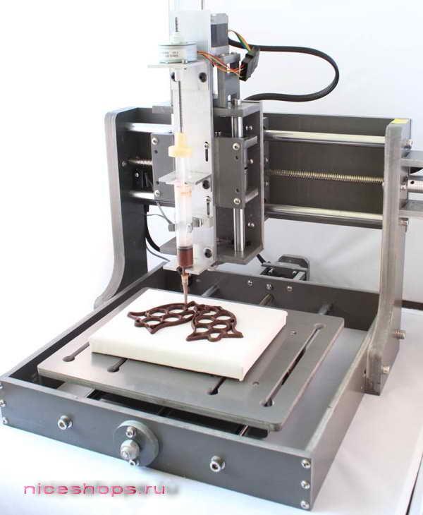 3д-печать на пищевом 3д-принтере