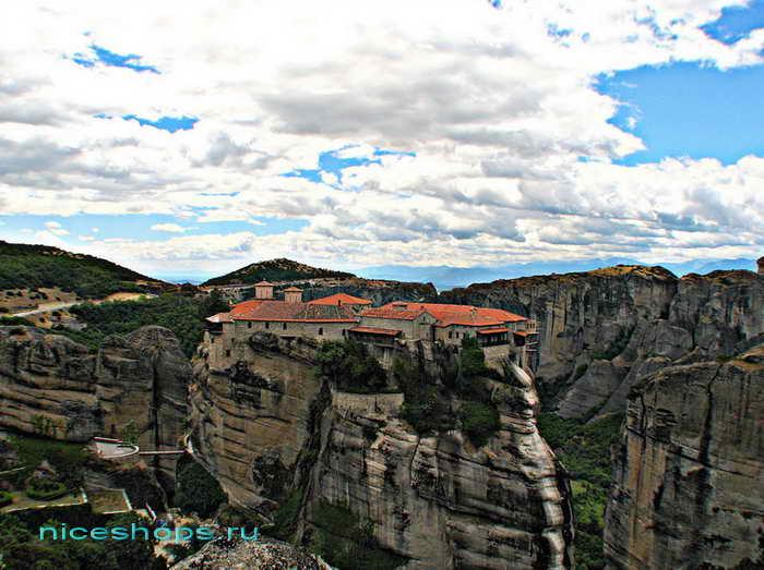 Метеоры Греции монастырь св. Стефана