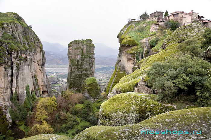 Преображенский монастырь - метеоры Греции