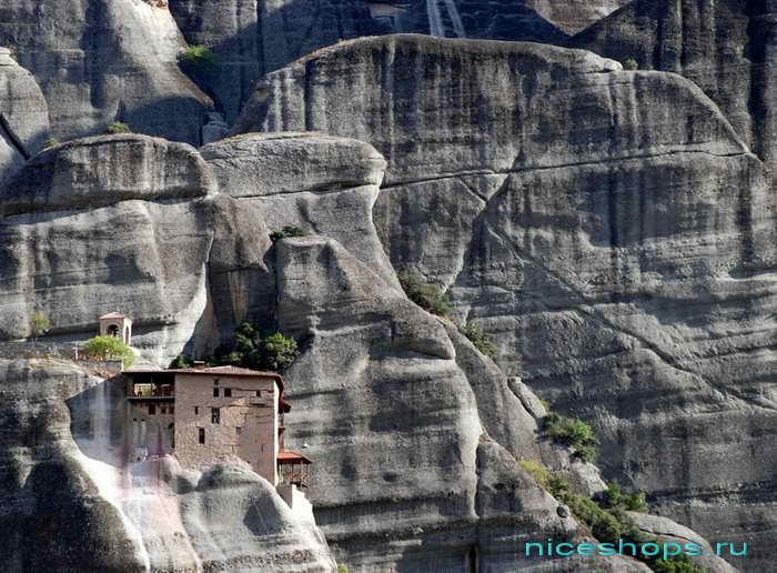 Метеоры Греции св. Николая монастырь