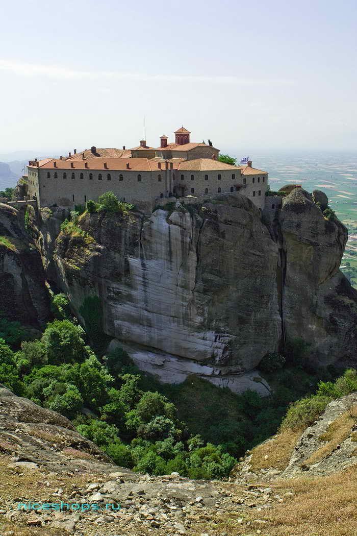 Метеоры Греции св. Стефана монастырь