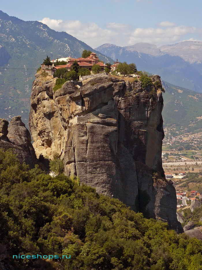 Метеоры св. Троицы храм (Греция)
