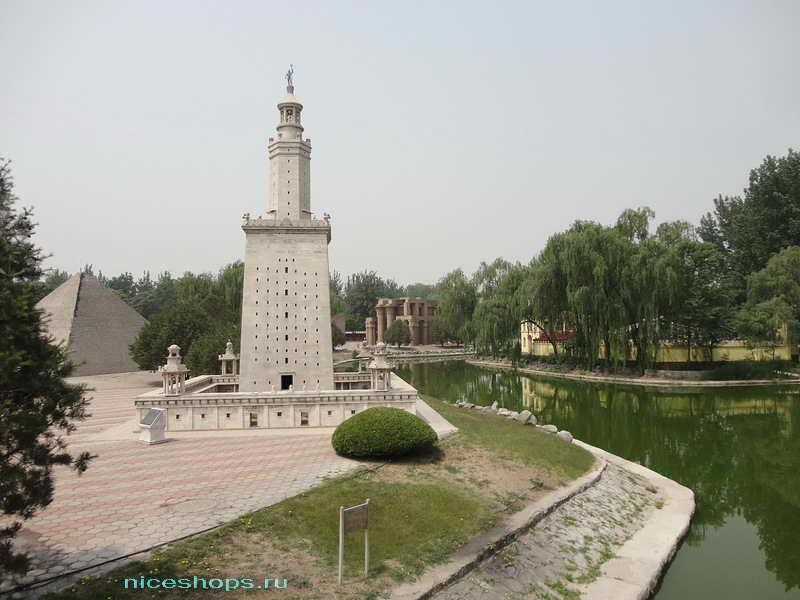 Реконструкция Фаросского маяка в масштабе