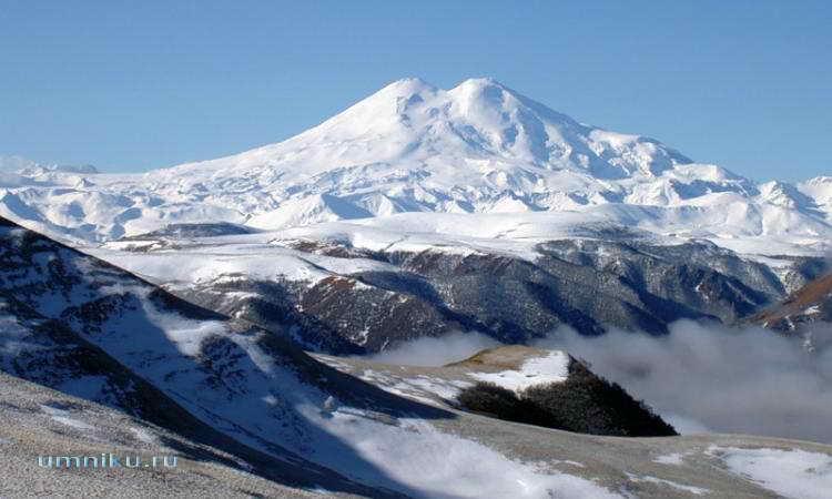 7 чудес России: гора Эльбрус