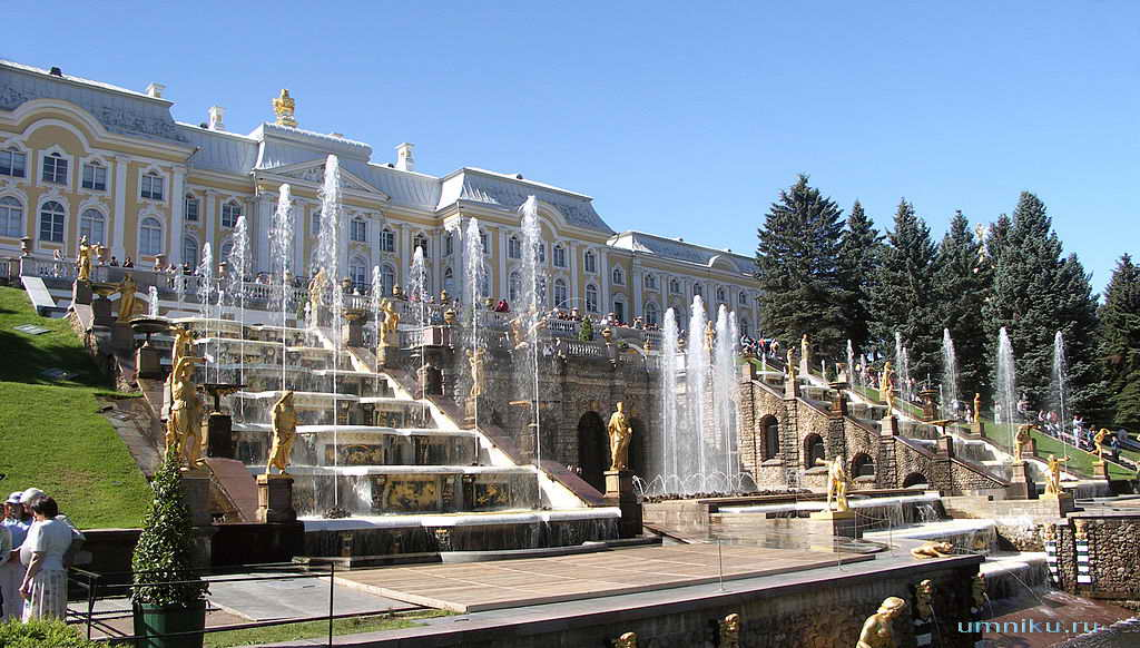 7 чудес России: Петергоф в Санкт-Петербурге