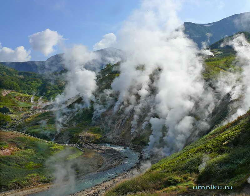 7 чудес России: долина гейзеров на Камчатке