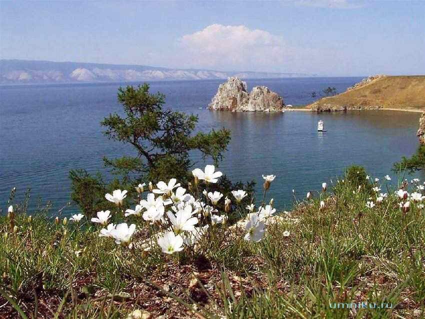 7 чудес России: озеро Байкал