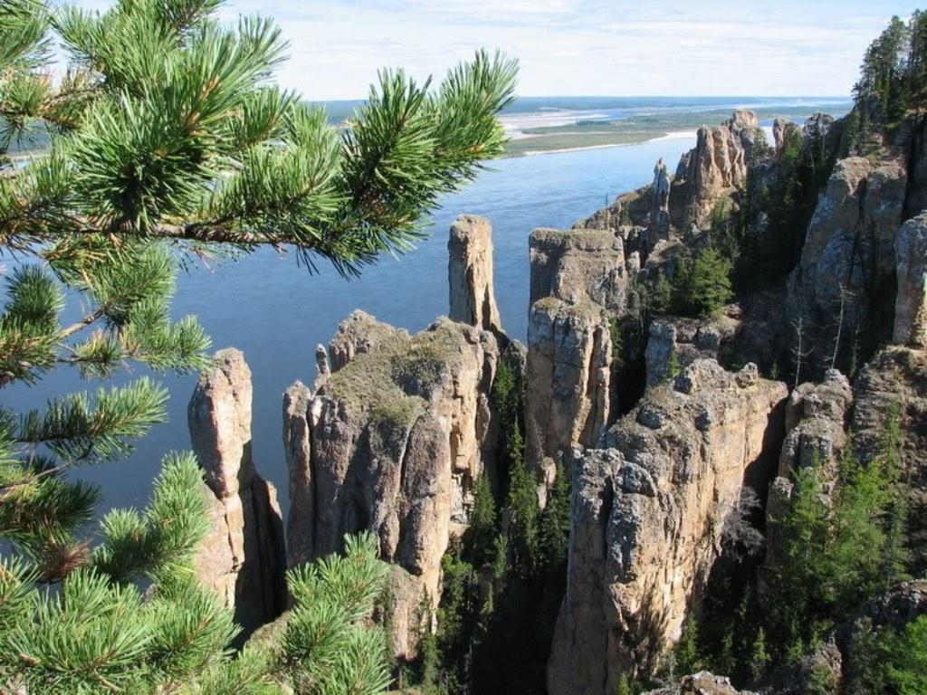 Происхождение Ленских столбов
