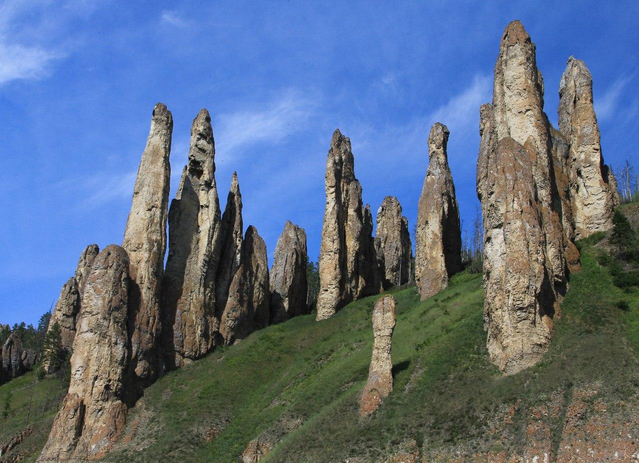 Ленские столбы на Дальнем Востоке