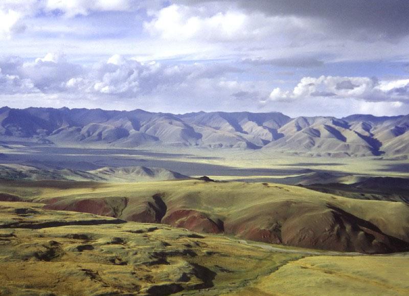 Пустыни Убсунурской котловины