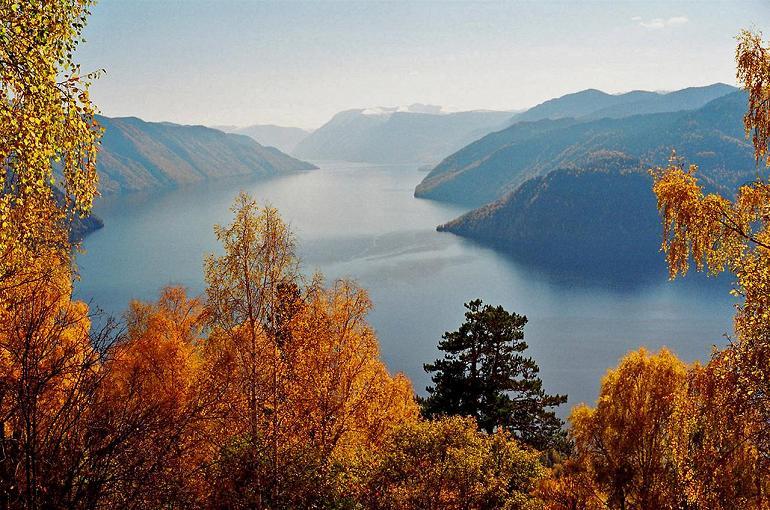 Озеро Телецкое на Алтае