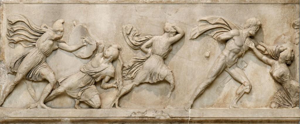 Скульптуры с фасада Галикарнасского мавзолея