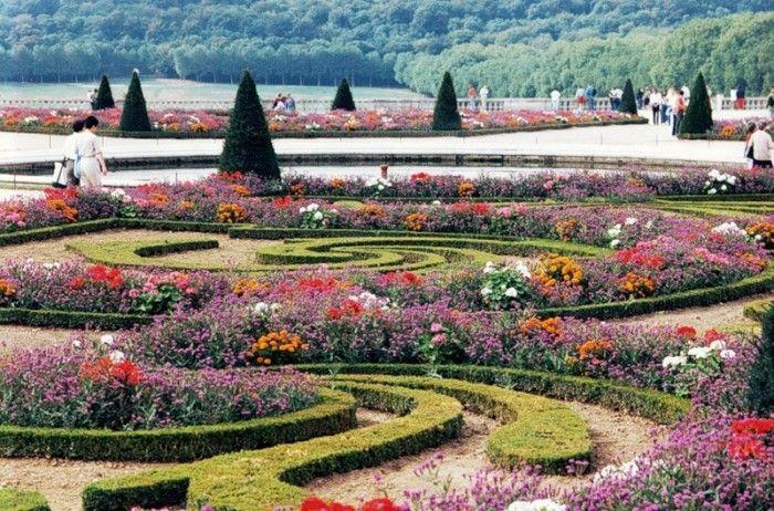 Ландшафтные композиции в парке Версаль